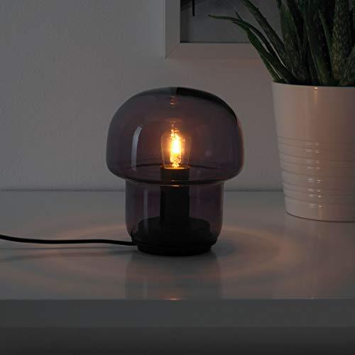 Ikea Tokabo - Lámpara de mesa (15 cm, cristal), color morado