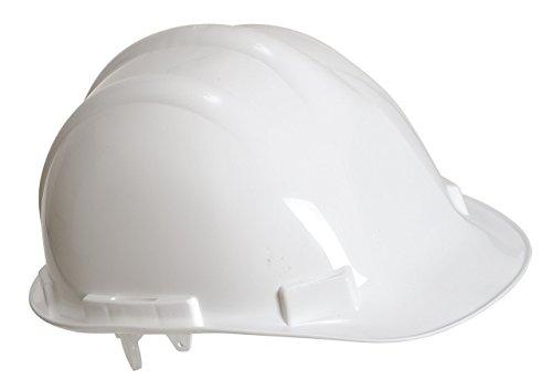 Portwest PW50WHR Elmetto Edurance Safety, Bianco, 55-62