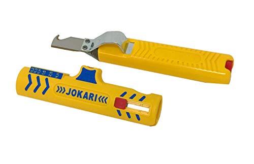 "KOMBI: JOKARI Set Secure Entmanteler No. 15 & Kabelmesser\""Standard No. 28H\"""