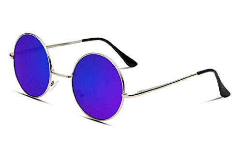 Inception Pro Infinite (Púrpura Gafas de sol - Redondas - Jhon Lennon - Hombres - Unisex - Polarizadas Uv400 -