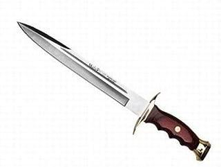 Portabotellas de Regalo Lanza Condor de Caza ASMAT Dagger Spear con Hoja de Acero Carbono 1075 de 40 cm y empu/ñadura de Madera de 126,4 cm 61350/ para Caza Supervivencia y Bushcraft