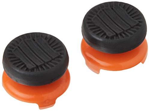 KontrolFreek Call of Duty: Black Ops 4 for PlayStation 4 (PS4) Controller   Performance Thumbsticks   2 High-Rise   Black/Orange