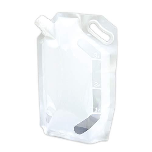 エピオス 給水袋 非常用 防災 携帯 折りたたみ ウォーターバッグ 3リットル(女性 シニアに運びやすいサイズ) 1pセット 7336