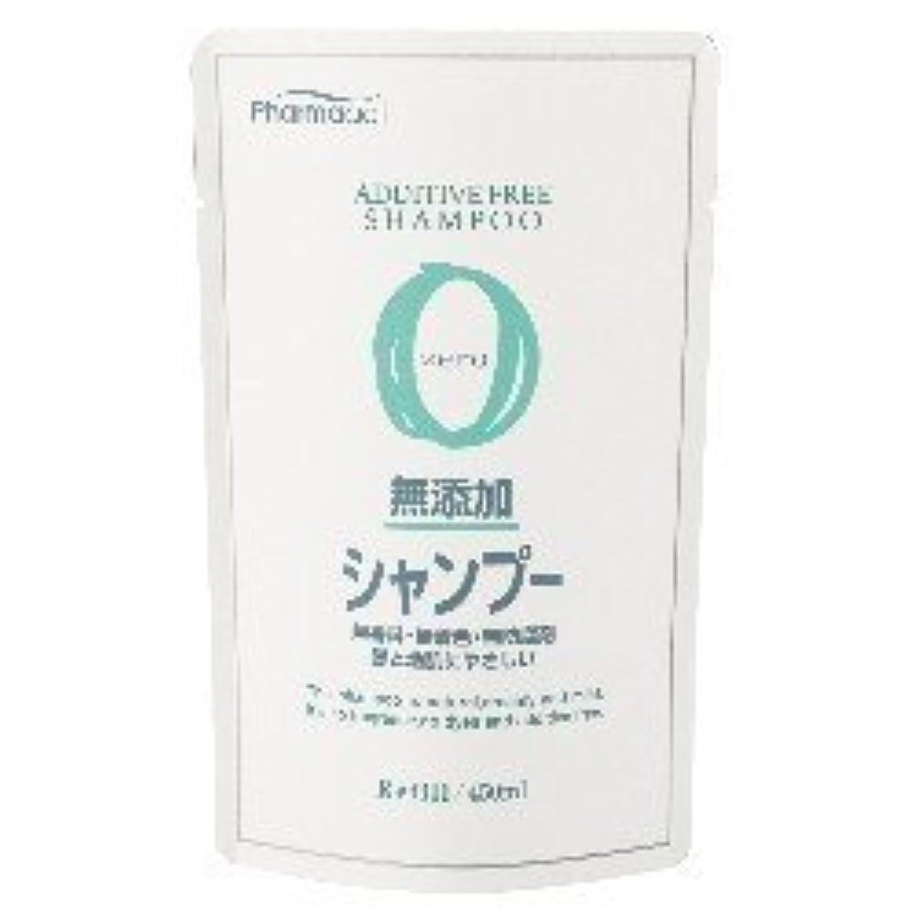 熊野油脂 ファーマアクト 無添加シャンプー 詰め替え用 450mL×24個セット  無香料?無着色?無防腐剤