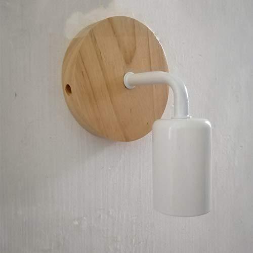 110 V 220 V hout wandlamp modern voor huis lamp vintage retro wandlamp lamp lamp hout wit.
