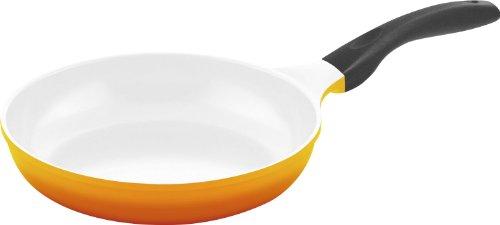 Culinario 051559–Pfanne Ø 24cm mit Boden für Induktion 28 Ø gelb
