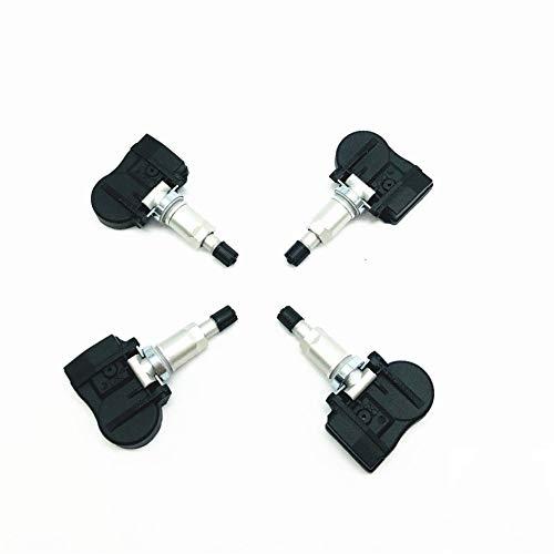 4pcs TPMS Genuino de presión de neumáticos Sensor for Sonata Equus Santa Fe Kia Carens Ceed 52933-3N100 52933-B1100 Sensor de presión de neumáticos (Color : Black, Color Name : 52933 3N100)