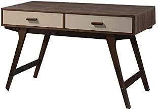Maison Concept Retronic Writing Desk, Dark Brown - W600 x H760 x D1200 mm