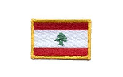 Aufnäher Patch Flagge Libanon - 8 x 6 cm
