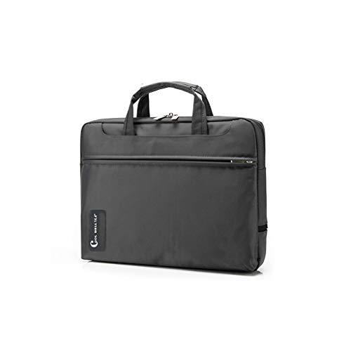Archiefkast handtassen en heren schoudertas zakelijke en laptoptassen laptop accessoires voor vrouwen topgreep zakken 41×33×6cm grijs