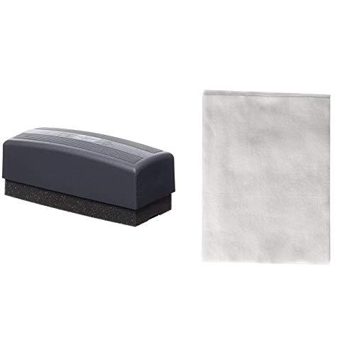 Faibo 1125006 - Borrador pizarra + Hojas lavables de recambio para borrador 15 M/ 15 MG, 5 unidades