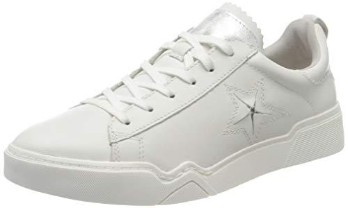 Tamaris Damen 1-1-23754-24 Sneaker, Weiß (White 100), 38 EU