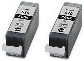 Canon 520 Pgbk 2 X Original Pgi 520bk Schwarze Tintenpatrone Für Pixma Mp 540 X Druckerpatrone In Folienverpackung Ohne Box Bürobedarf Schreibwaren