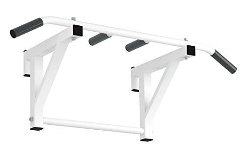 Jungle Monkey Barras de dominadas para escalera sueca o barra de pared | Barra de dominadas con agarre suave, entrenador de parte superior del cuerpo |