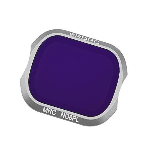FLAMEER Sostituzione del Filtro dell'obiettivo della Fotocamera in Vetro Ottico Professionale Compatibile con Gli Accessori DJI Mavic 2 PRO - ND8