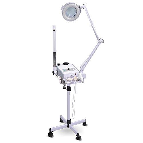 Vaporizador facial de ozone 3en1 profesional máquina de vapor facial brossage facial...