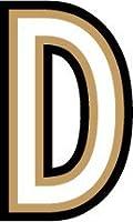LD-D レターデカール D ステッカー LETTER DECAL (5.0cmサイズ)