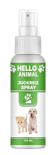 NEU: HelloAnimal JUCKREIZ Spray für Hunde & Katzen bei Hautreizungen, pflegt Haut und Fell bei Läuse, Flöhe, Milben – SOFORTHILFE