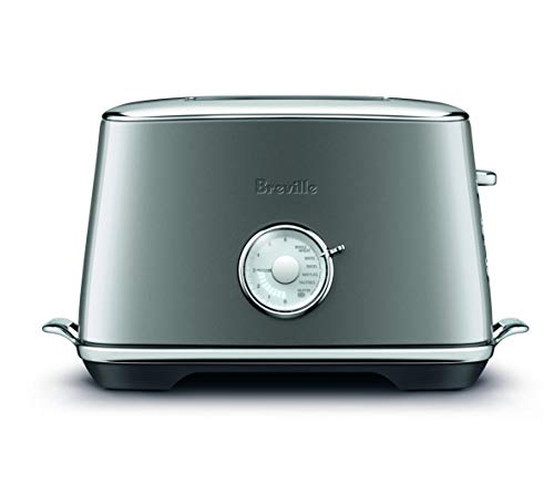 Breville Toaster Select 2 Slice Luxe Smoked Hickory