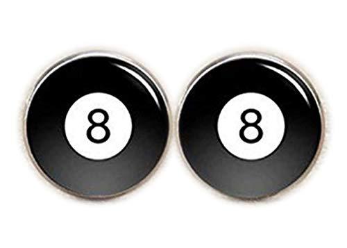 Gemelos de billar, bola de billar Gemelos de 10, número 8piscina Gemelos,...