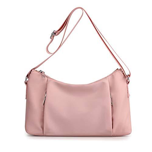Bolso cruzado para mujer, ligero, casual, impermeable, ligero, de nailon, ligero, casual, vintage, bolso de hombro, bolso de moda, bolso de compras de noche, fiesta de ciudad, bolsa de mano Fa