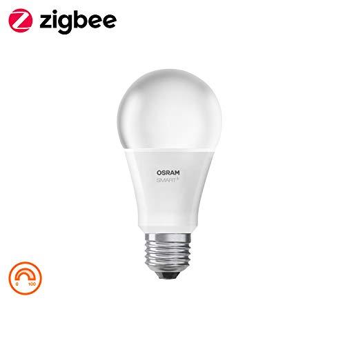 Osram Smart+ Dimming KitInterruttore Portatile Switch Mini Bianco con Lampadina LED a Goccia E27, Dimmerabile