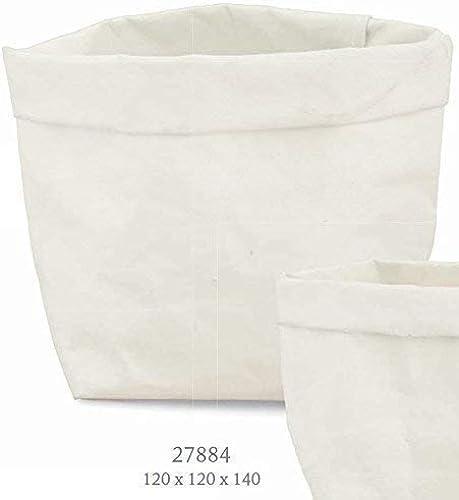 ordene ahora los precios más bajos Subito Disponibile 6 Piezas Funda blanco en Papel Kraft Kraft Kraft Lavable 12x12x14cm para Confettata  ¡envío gratis!