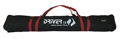 Driver13 Sac de Ski 185 cm Noir-Rouge