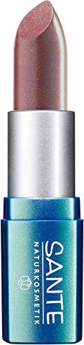 SANTE Naturkosmetik Lipstick No. 13 nude mellow, Lippenstift, Transparente bis intensive Farben, Zart pflegend & sanft schützend, 4,5g