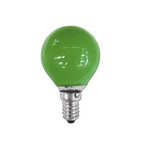 clar-leuci–Glühlampe esferica grün 25W 230V E