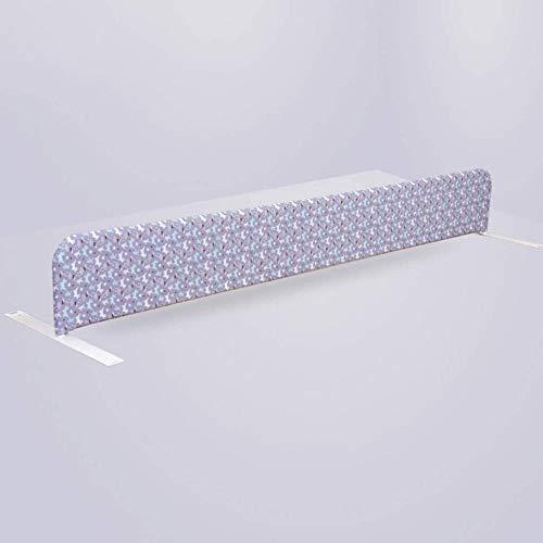 Fence-products JT Trennwand für Bett, universelle Isolation, Unterbett, Artefakt-Partition, Mittelbett, Sicherheitsgitter auf dem Bett, langlebig, metall, B, 189x25cm