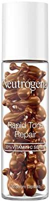 Neutrogena Rapid Tone Repair Brightening 20 Vitamin C Serum Capsules Antioxidant Serum To Brighten product image