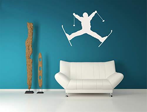 pegatinas de pared mariposas Esquí Snow Mountain Movement Kids Boy Habitación Moderno