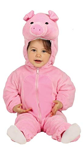 Fiestas Guirca Costume da Maialino Bebè Neonato