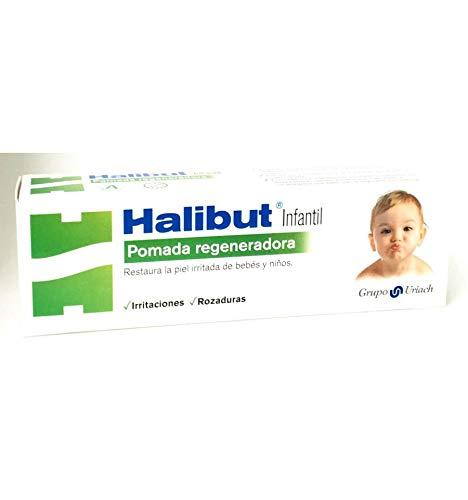 Uriach Aquilea Otc Halibut 163607 - Pomada regeneradora Infantil, 45 gramos