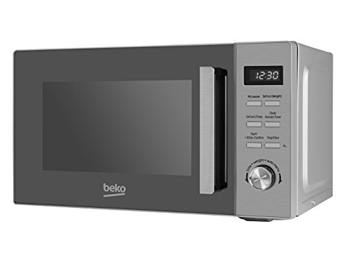 Beko MOF20110X Solo Microwave with Digital Programmer, 20 Litre, 800 W, Stainless Steel