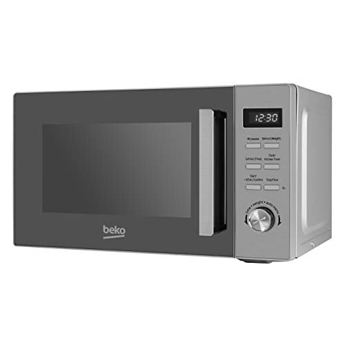 31KH b+gA+L. SS500  - Beko MOF20110X Solo Microwave with Digital Programmer, 20 Litre, 800 W, Stainless Steel