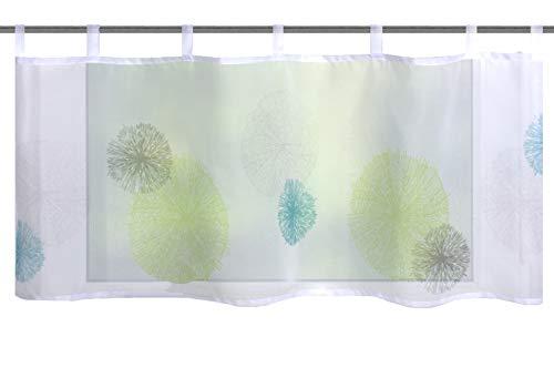 Home fashion RAWLINS, polyester, groen-blauw, 45x120 cm