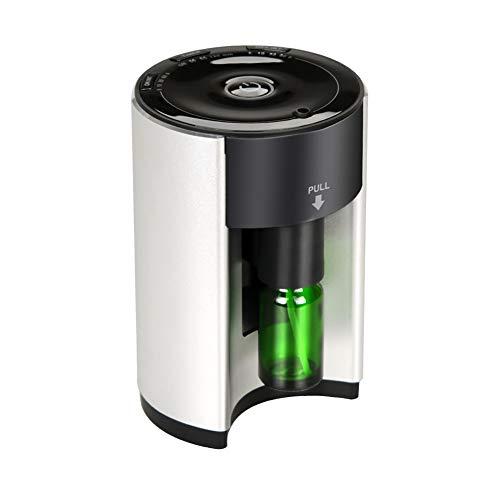 Ultrasone machine voor aromatherapie etherische oliën diffuser roestvrij staal voor verlichting van verkoudheid en hoest, luchtreiniger voor babykamer
