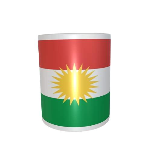 U24 Tasse Kaffeebecher Mug Cup Flagge Kurdistan