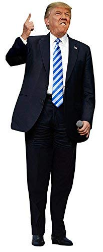 aahs!! Engraving Furious Donald Trump Life Size Cardboard Stand Up, 6 feet