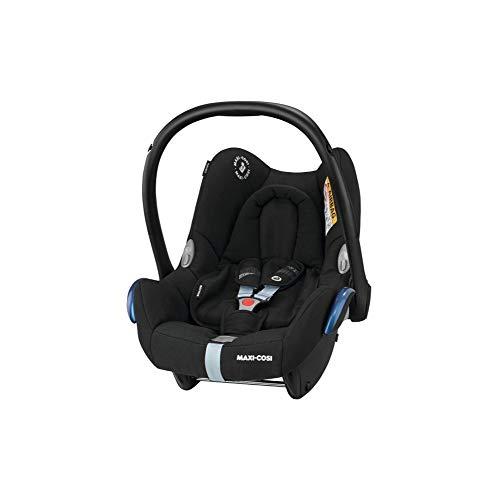 Maxi Cosi CabrioFix grupo 0+, utilizable desde el nacimiento hasta los 12 meses, aprox. 0 - 13 kg. negro -