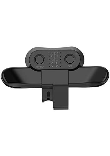 MAXKU PS4 背面ボタンアタッチメント 背面パドル リコイル制御/連射 日本語取扱説明書(ブラック)