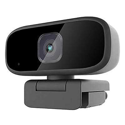 Webcam with Microphone, HD 1080P USB Web Camera...
