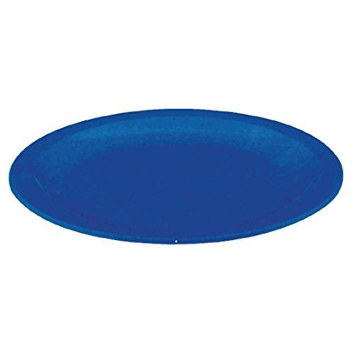 Kristallon Lot de 12 assiettes rondes Bleu 230 mm