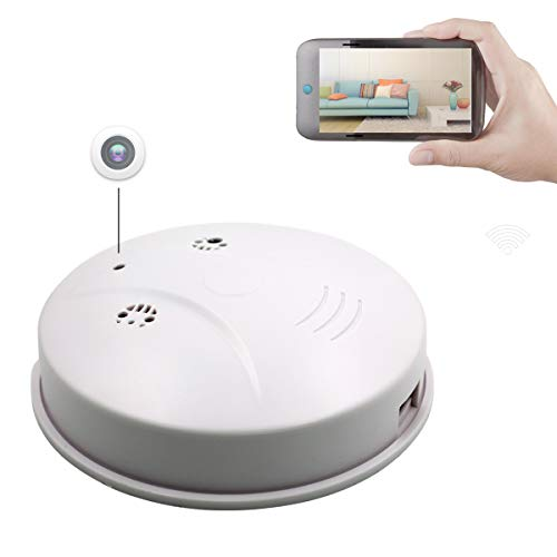 Sunsome Upgrade WiFi Hidden Camera Smoke Detector