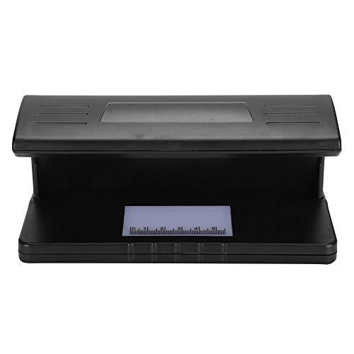 Rilevatore di denaro a raggi ultravioletti, mini banconota falsa di banconote Tester Rilevatore di denaro a raggi ultravioletti portatile con controllore di denaro del righello di scala con LED Superb
