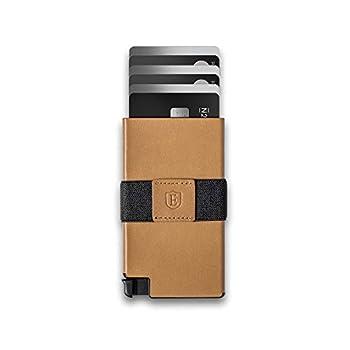 Ekster  Senate - Leather Card Holder Wallet - RFID Blocking - Quick Card Access  Roma Cognac