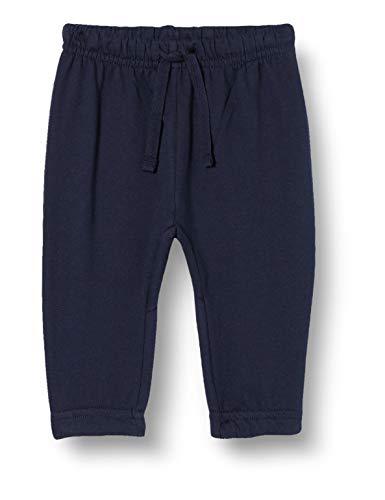 Chicco Pantaloni Lunghi Bimbo con Stampa sul Retro, Blu (Blu 088), 62 (Taglia Produttore:062)