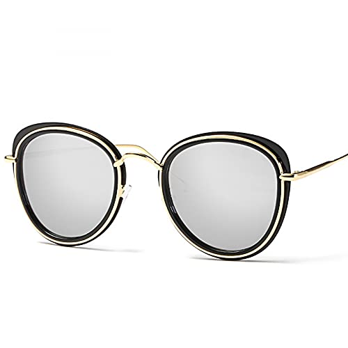 Gafas de sol para mujer de gran tamaño polarizadas vintage diseñador gafas de sol, A4,